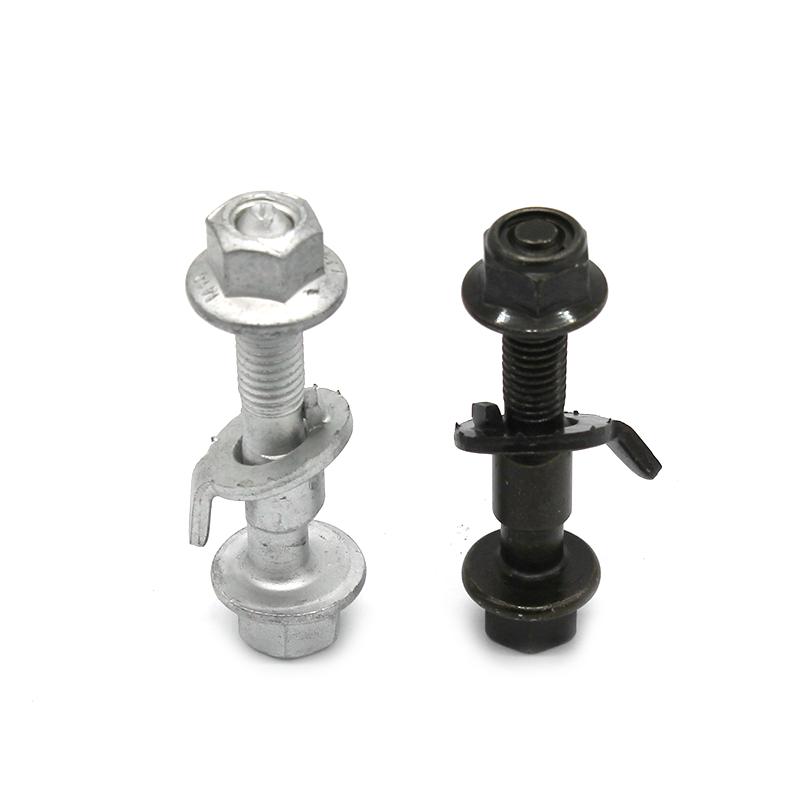 四轮定位轮胎偏心螺丝12 14 15 16 17mm(10.9级)调整外倾角螺栓
