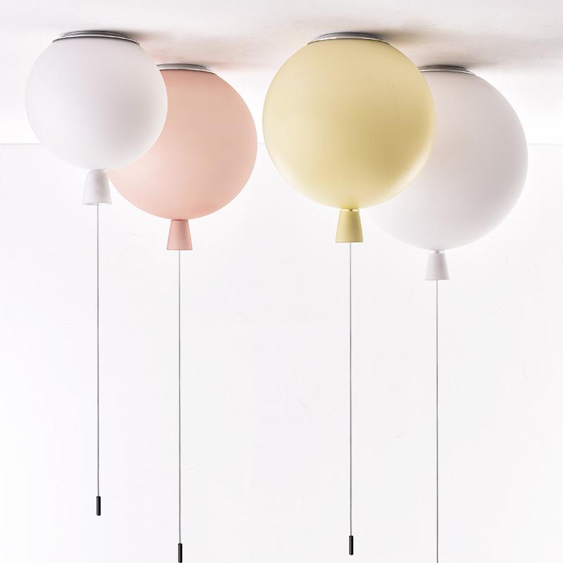 吸顶灯卧室客厅灯 led 捷克儿童房网红气球灯北欧女孩男孩简约现代
