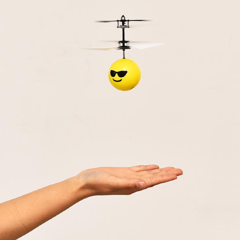 儿童迷你感应飞行器无人机男孩能飞的小玩具飞机遥控悬浮直升机