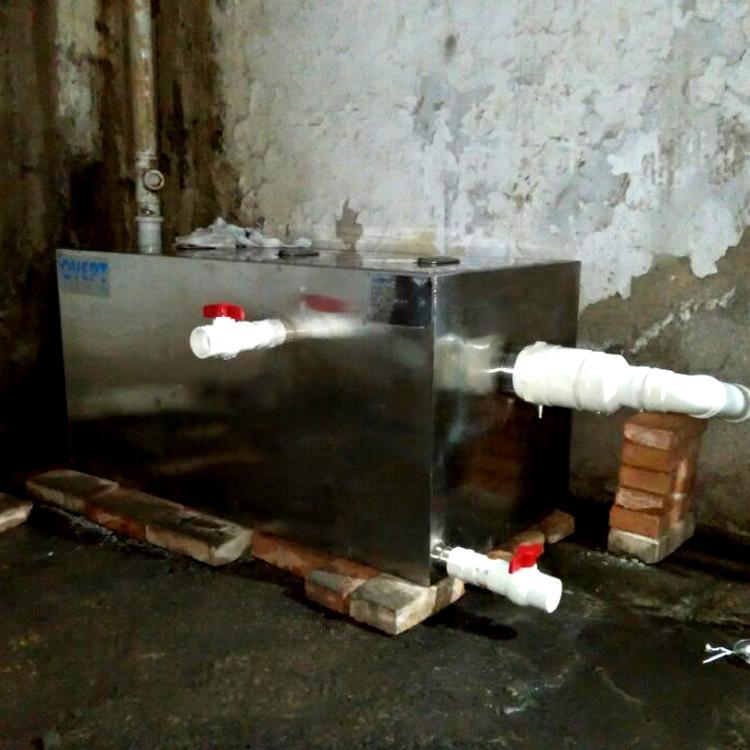304不锈钢隔油池餐饮食堂厨房油水分离器酒店商用大小型固安深圳