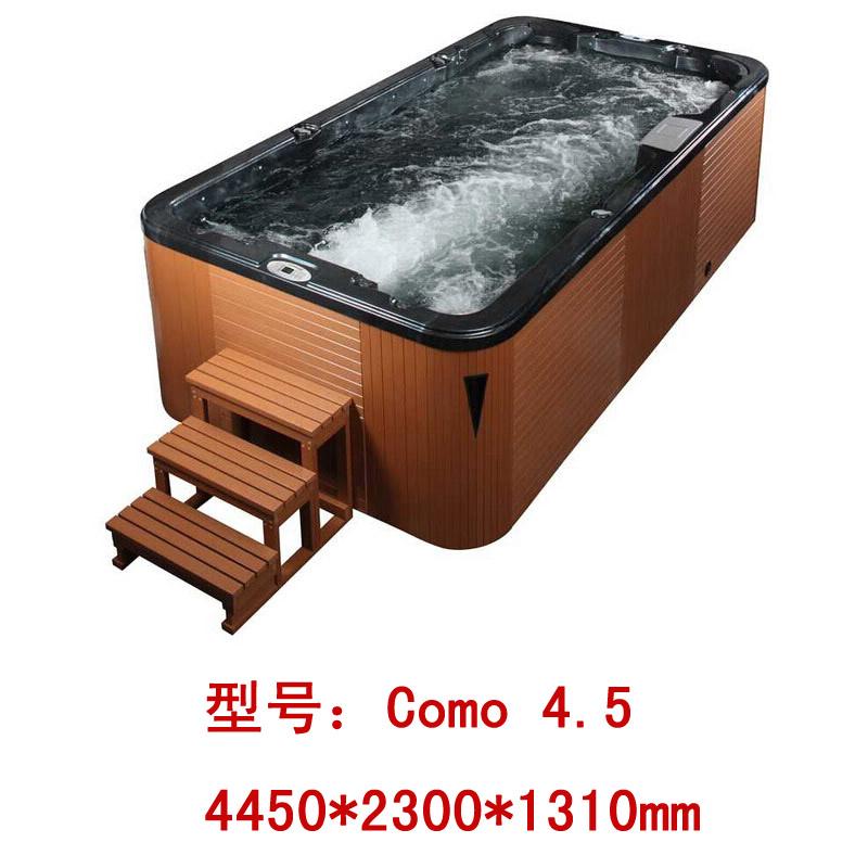 H2oluxury 情侣成人家用户外大缸 按摩浴缸 户外泳池spa Como系列