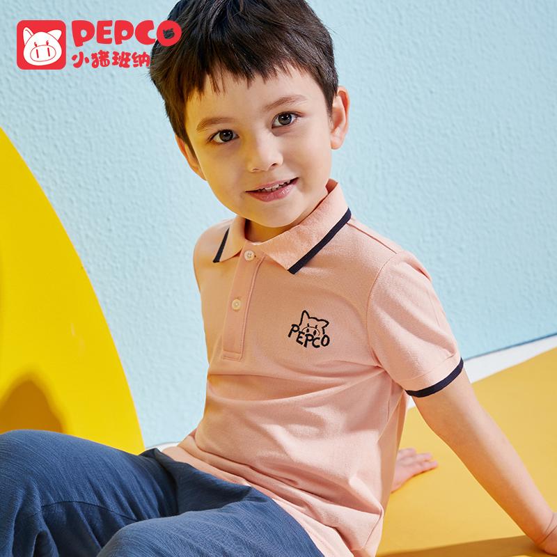 男童短袖polo衫t恤夏装儿童中大童纯棉翻领宝宝洋气韩版小孩童装