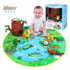 jollybaby baby game blanket crawling mat 0-3 years old baby early education toys 0-6-18 months full moon gift
