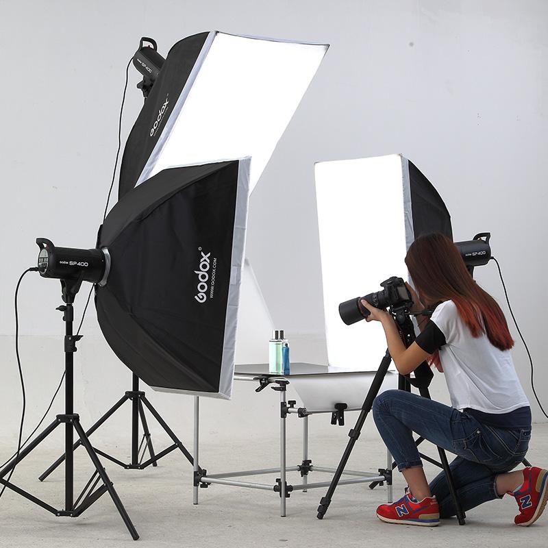 神牛摄影灯闪光灯摄影棚套装400w拍摄拍照灯淘宝服装人像补光灯影室灯打光灯室内静物柔光灯棚拍设备SK400