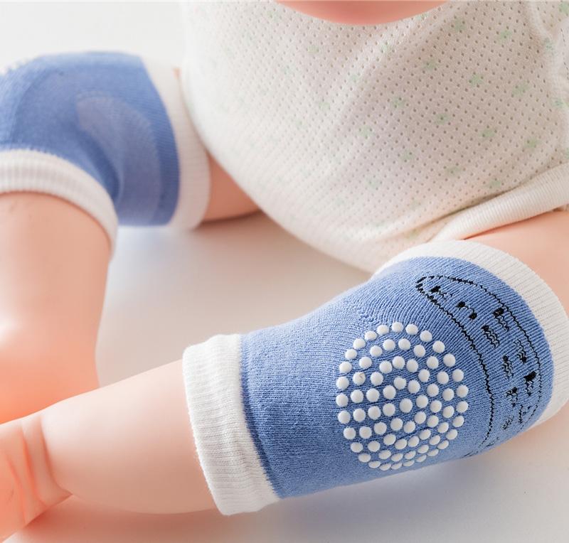 1  岁 3 儿童宝宝爬行护膝袜纯棉夏季薄款婴儿小孩防摔防滑学步袜 0