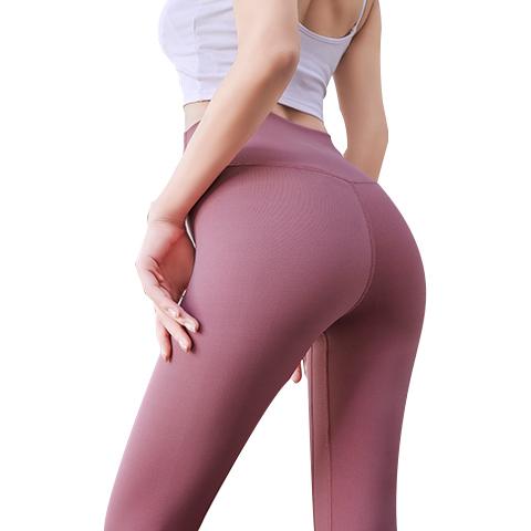 瑜伽裤女高腰弹力打底外穿健身服套装跑步网红提臀蜜桃运动裤薄夏