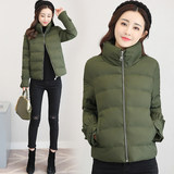 2020 new jacket women's winter short paragraph thickened cotton jacket Slim anti-season down cotton clothing women's bread clothing cotton coat