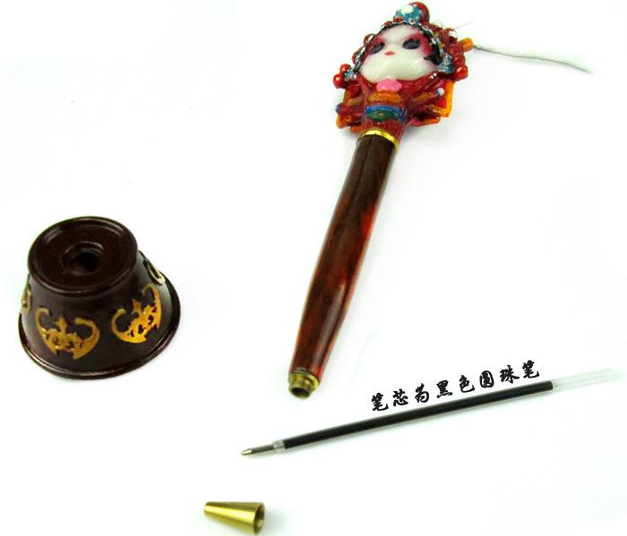 戏博士京剧脸谱笔 中国风特色礼物送老外事出国礼品小文艺纪念品