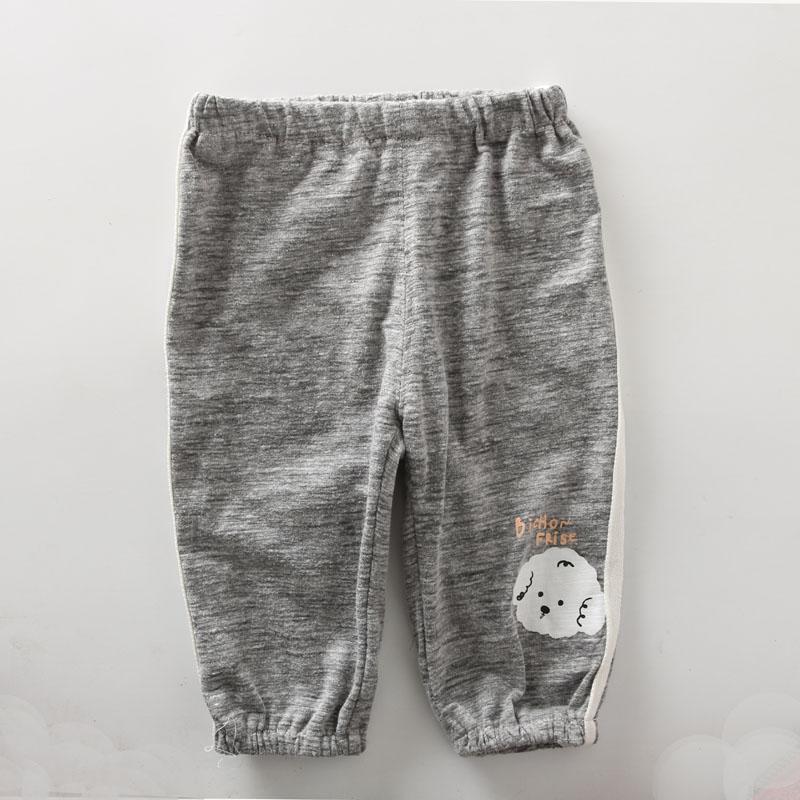 天使娃娃夏季防蚊裤可开档七分裤 婴儿宝宝纯棉两用档短裤