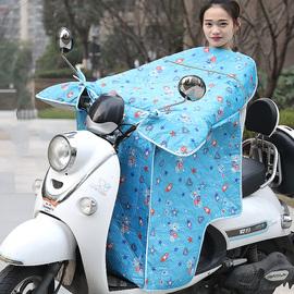 电瓶车防晒挡风罩电动摩托车挡风被夏季自行车薄电车防风遮阳罩