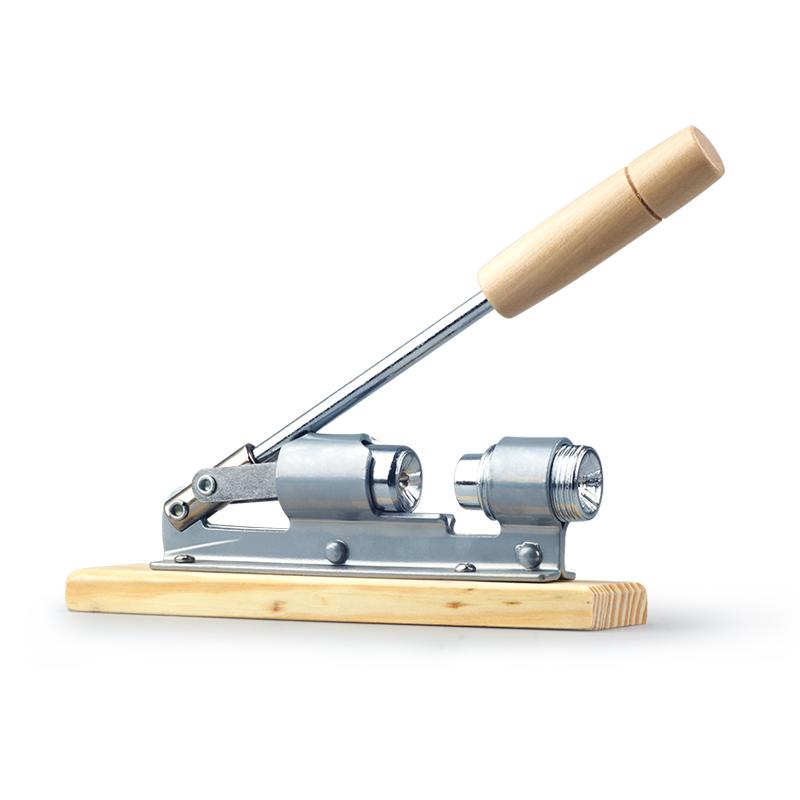 机械式核桃夹子坚果钳子夹核桃工具整粒剥山核桃夹大小手推开果器