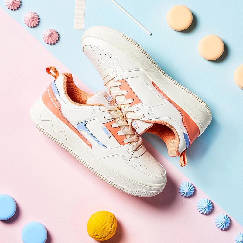 双11预售361女鞋运动鞋2021秋冬新款小白鞋空军一号板鞋女休闲鞋