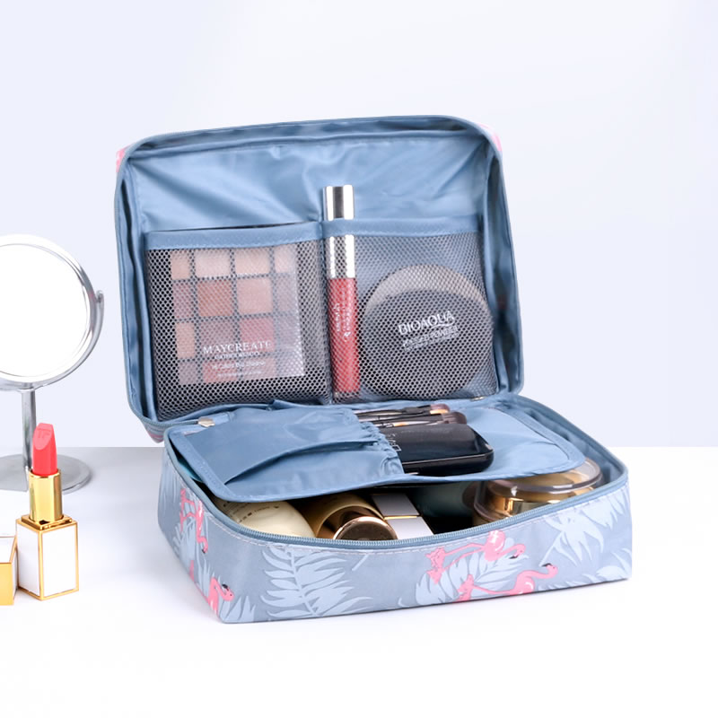 ins网红化妆包旅行便携防水大容量化妆袋少女心洗漱包简约收纳盒