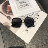 Children's day sunglasses boy personality tide girl anti-ultraviolet catwalk show sunglasses baby glasses