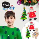 Christmas handmade diy kindergarten area corner decoration pendant pendant ornaments children's homemade coloring material package