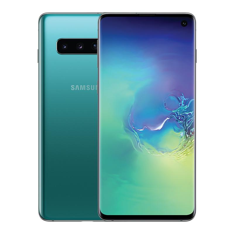 稀缺颜色 智能手机 4G 防水 IP68 官方正品 四摄像头 855 骁龙 G9730 SM S10 Galaxy 三星 Samsung 天猫预售