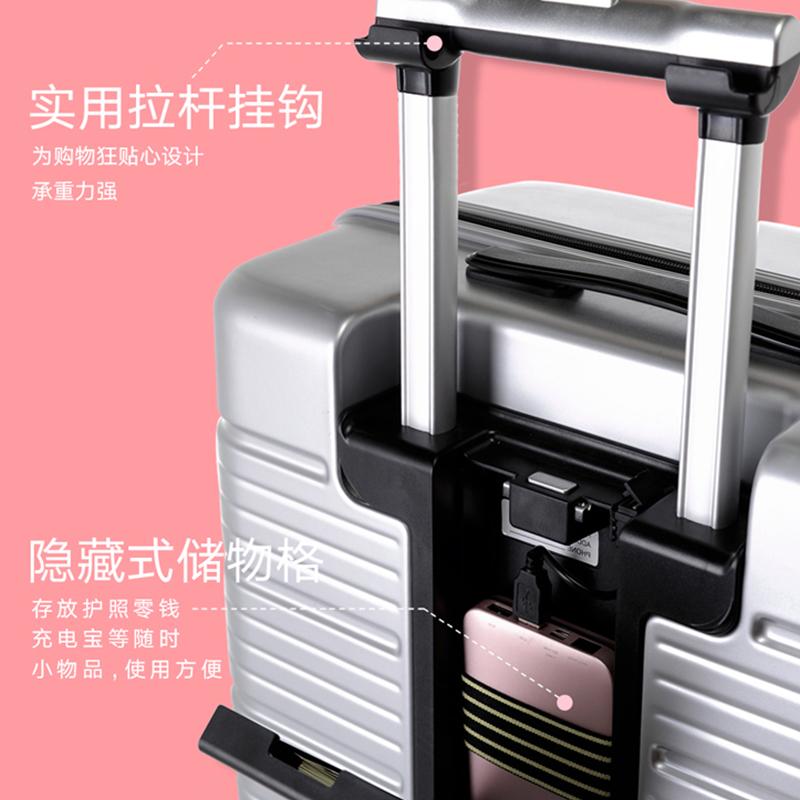 寸登机箱 20 寸大容量旅行箱男万向轮商务行李箱密码箱 24 拉杆箱 NTNL