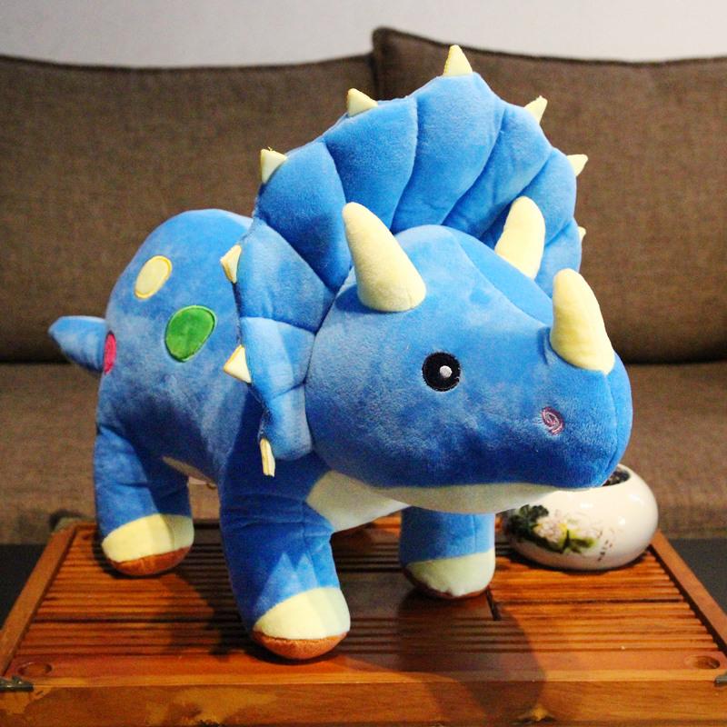 大号三角龙毛绒玩具男生恐龙霸王龙儿童玩偶可爱公仔娃娃生日礼物