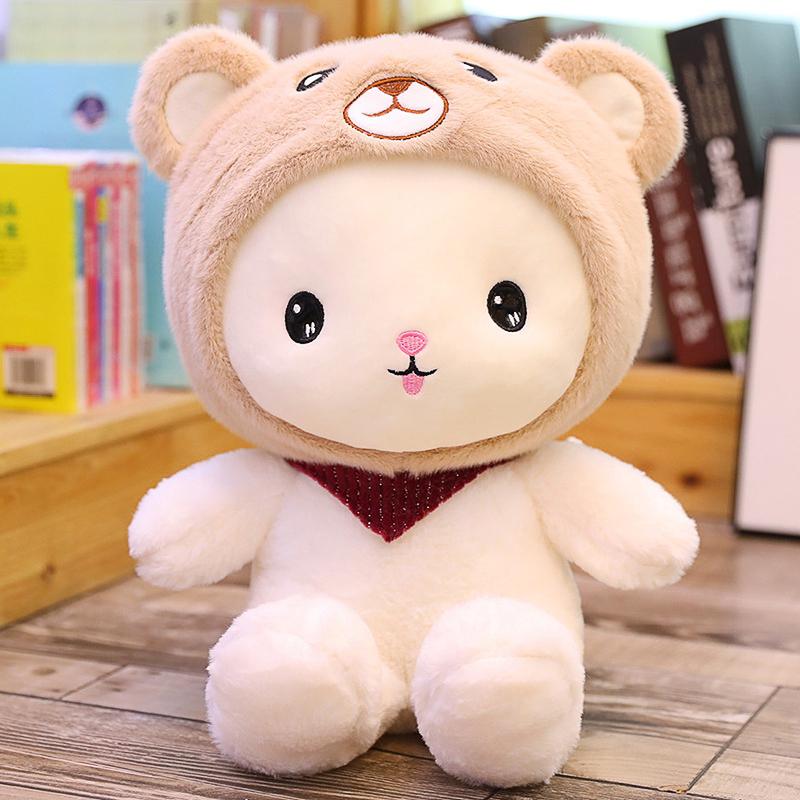 小熊可爱娃娃熊公仔毛绒玩具网红儿童生日礼物送女孩床上玩偶超软