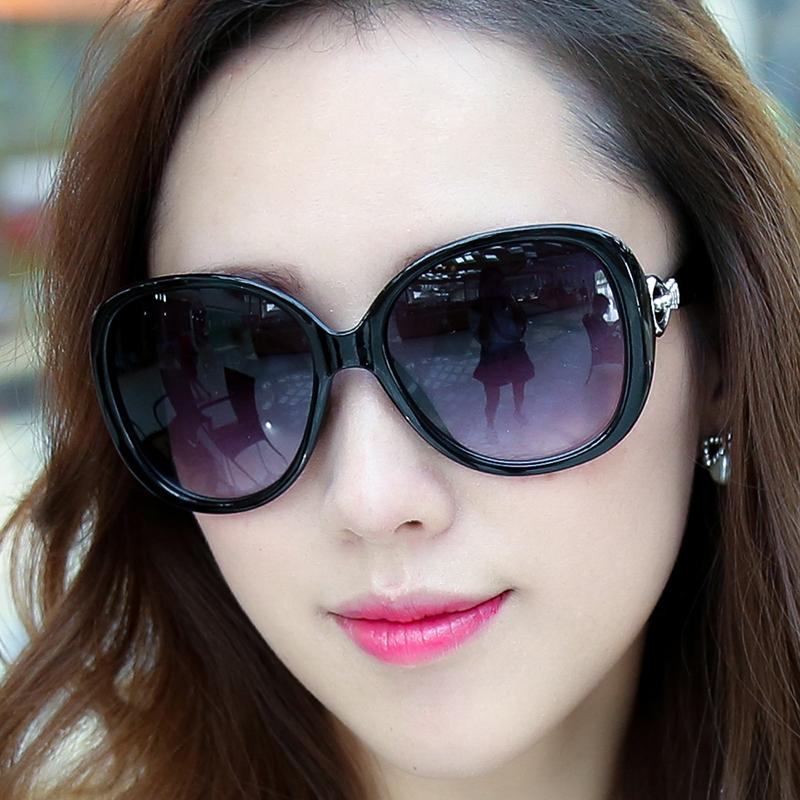 墨镜女夏明星款个性眼镜2021新优雅太阳镜女士圆脸韩版潮