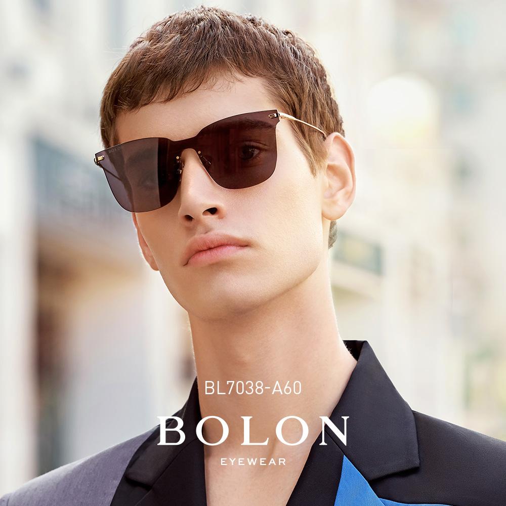 bolon暴龍2019新款太陽鏡男女王俊凱同款方框墨鏡潮流眼鏡bl7038圖片