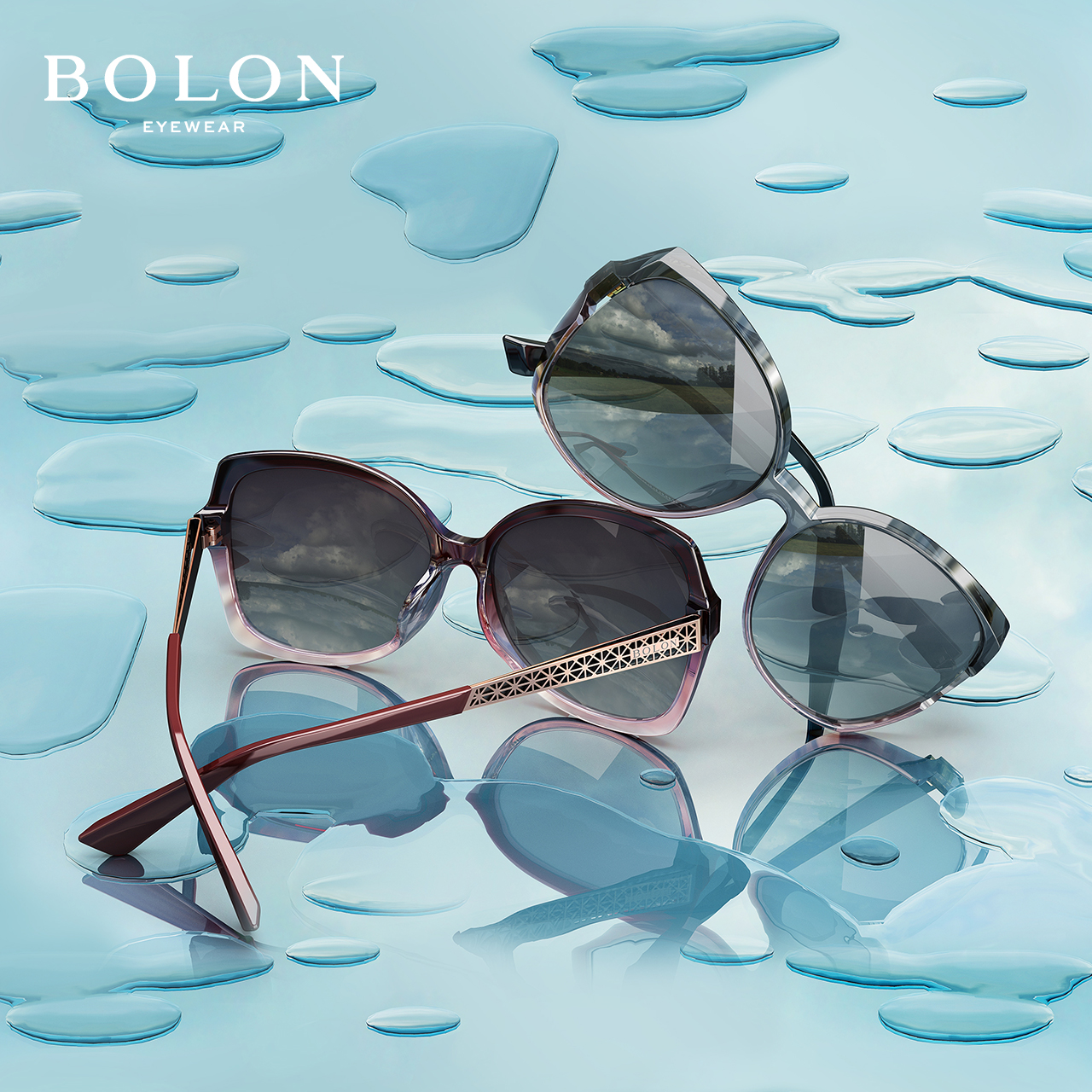 BOLON暴龙2018新款偏光太阳镜女明星同款时尚墨镜个性眼镜BL5018