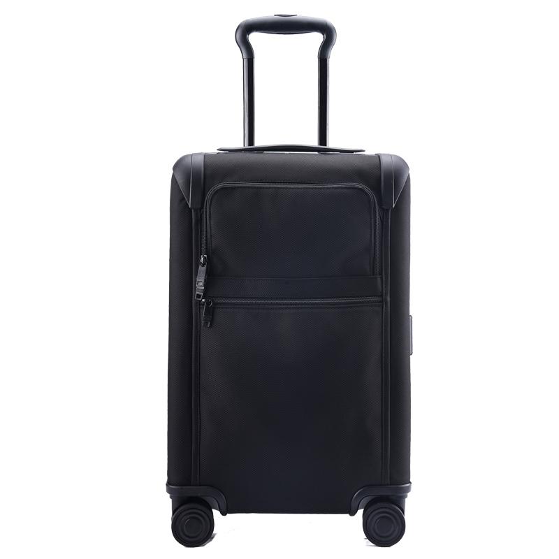 出口德国抗磨尼龙旅行箱牛津布帆布行李箱万向轮密码锁商务登机箱