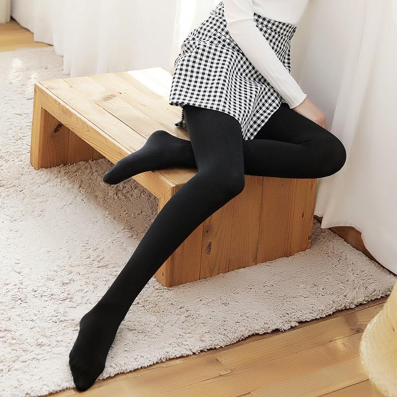 南极人丝袜女春秋冬薄款防勾丝连体加绒加厚肉色中厚打底连裤袜子