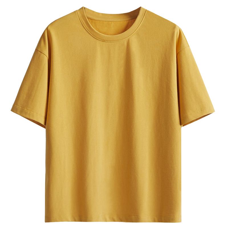 网红纯棉短袖t恤女ins潮春夏季2020年新款韩版宽松纯白色半袖体恤