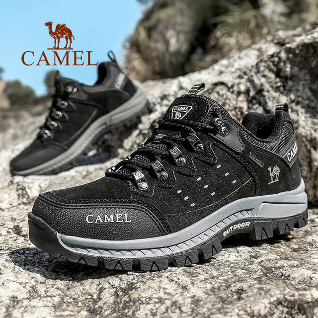 Shopping Mall with camel outdoor autumn and winter non-slip hiking shoes men's hill hikes mountain sports travel shoes