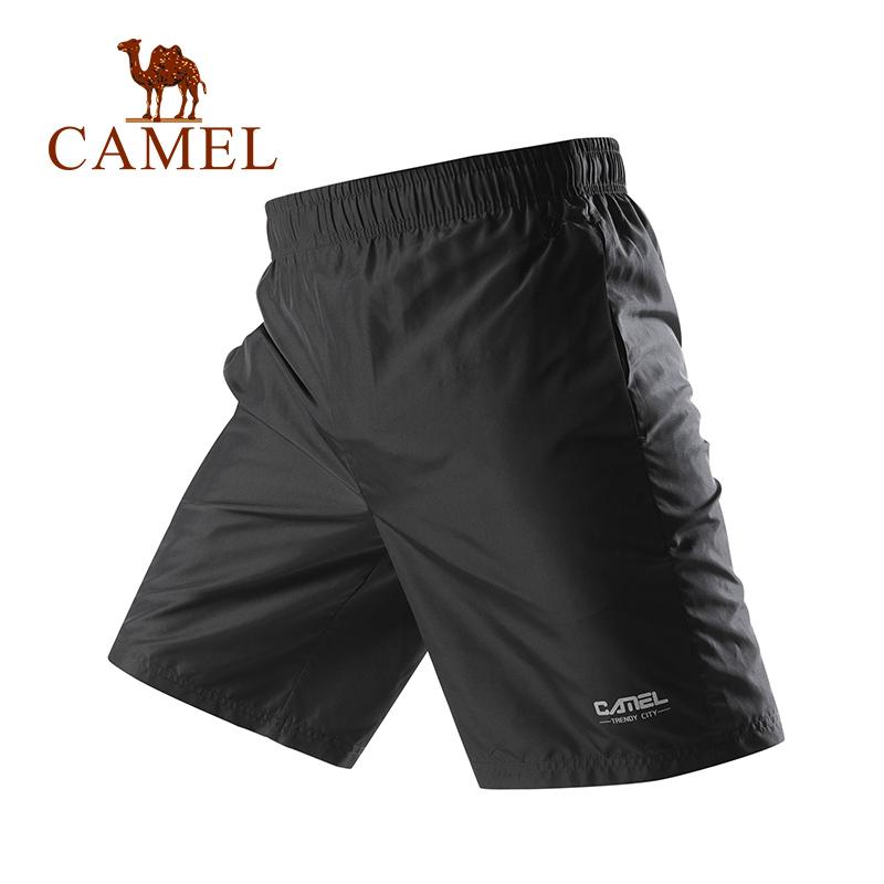 CAMEL 骆驼 T0S2U8123 男士户外运动短裤  34元包邮(用券)