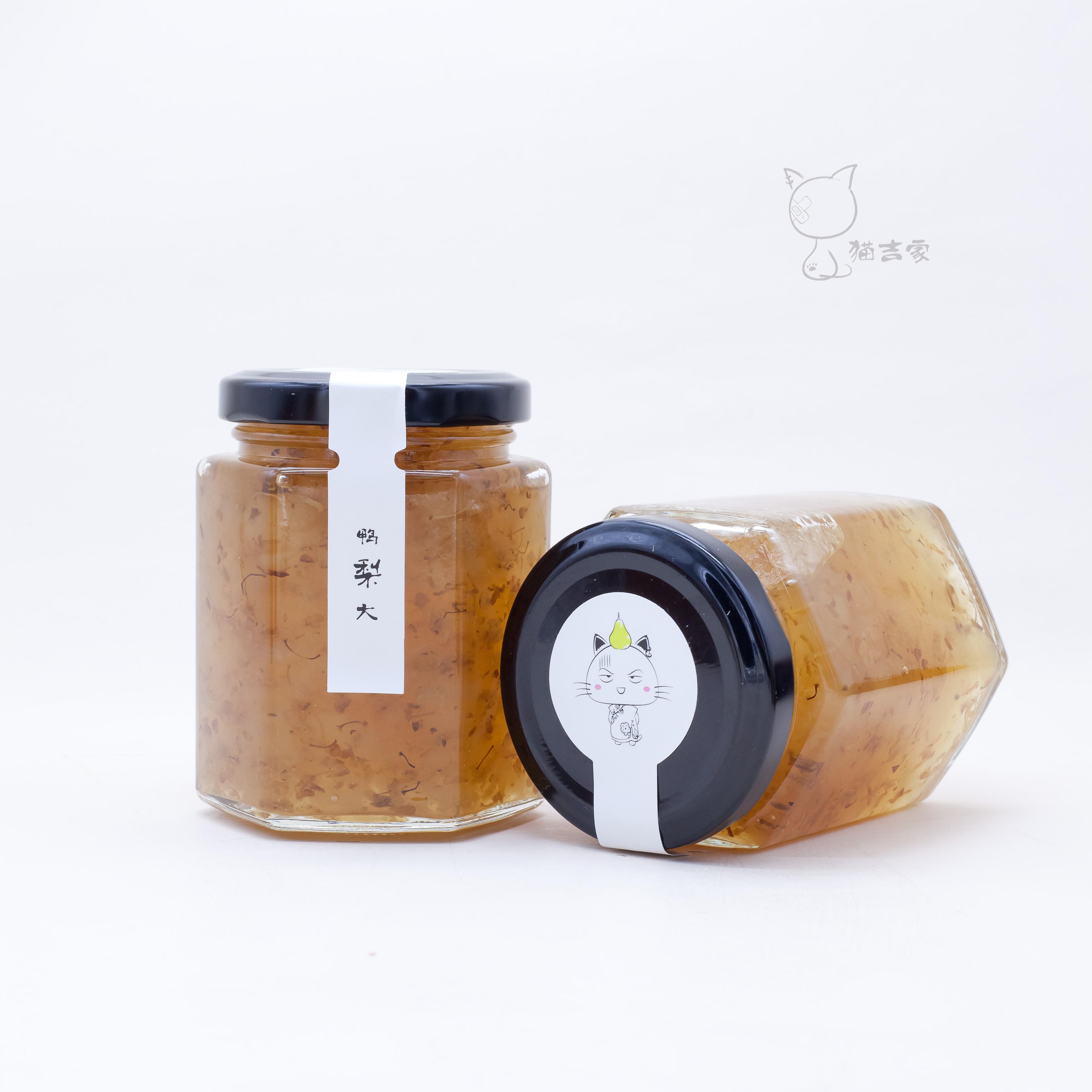 包邮 土冰糖 桂花雪梨果酱果茶 220g