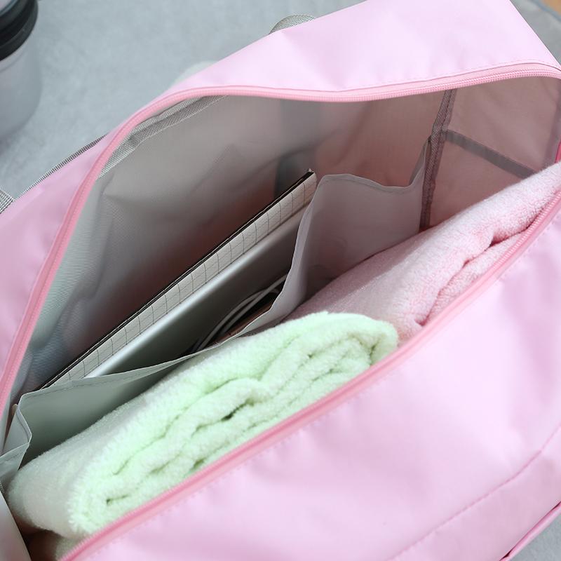 旅行包防水收纳袋折叠手提袋衣服整理打包袋待产包袋子 行李箱上