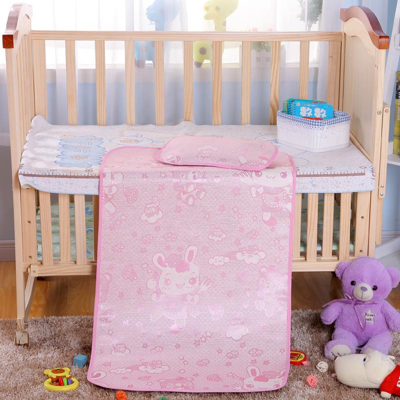 婴儿凉席新生儿宝宝凉席夏季专用冰丝凉席婴儿床幼儿园