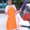 简约防水厨房围裙男女美发店理发师专用宠物店工作服围腰印制logo