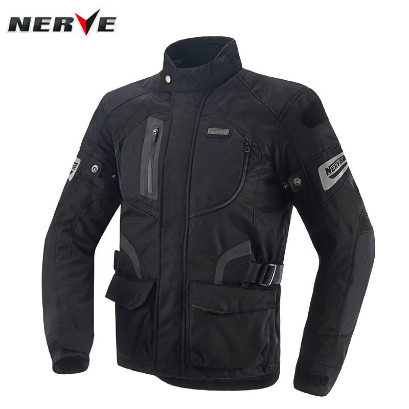 NERVE摩托车骑行服套装男四季重机车衣服全套防摔