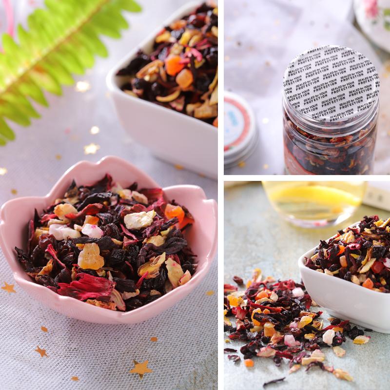 瓶 7 120g 水果干花粒茶花茶欧式花果茶厦门特产 佟小曼手工茶饼坊