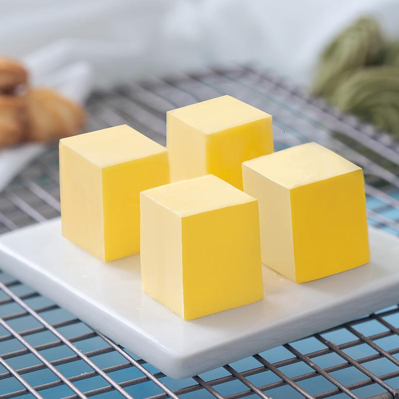 无盐植物黄油500g煎牛排专用面包饼干牛轧糖雪花酥家用烘焙原材料
