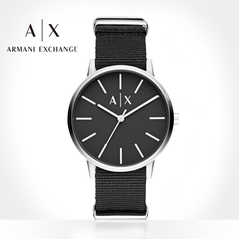 Armani阿玛尼官方旗舰店正品手表男士石英腕表情人节礼盒物AX7111