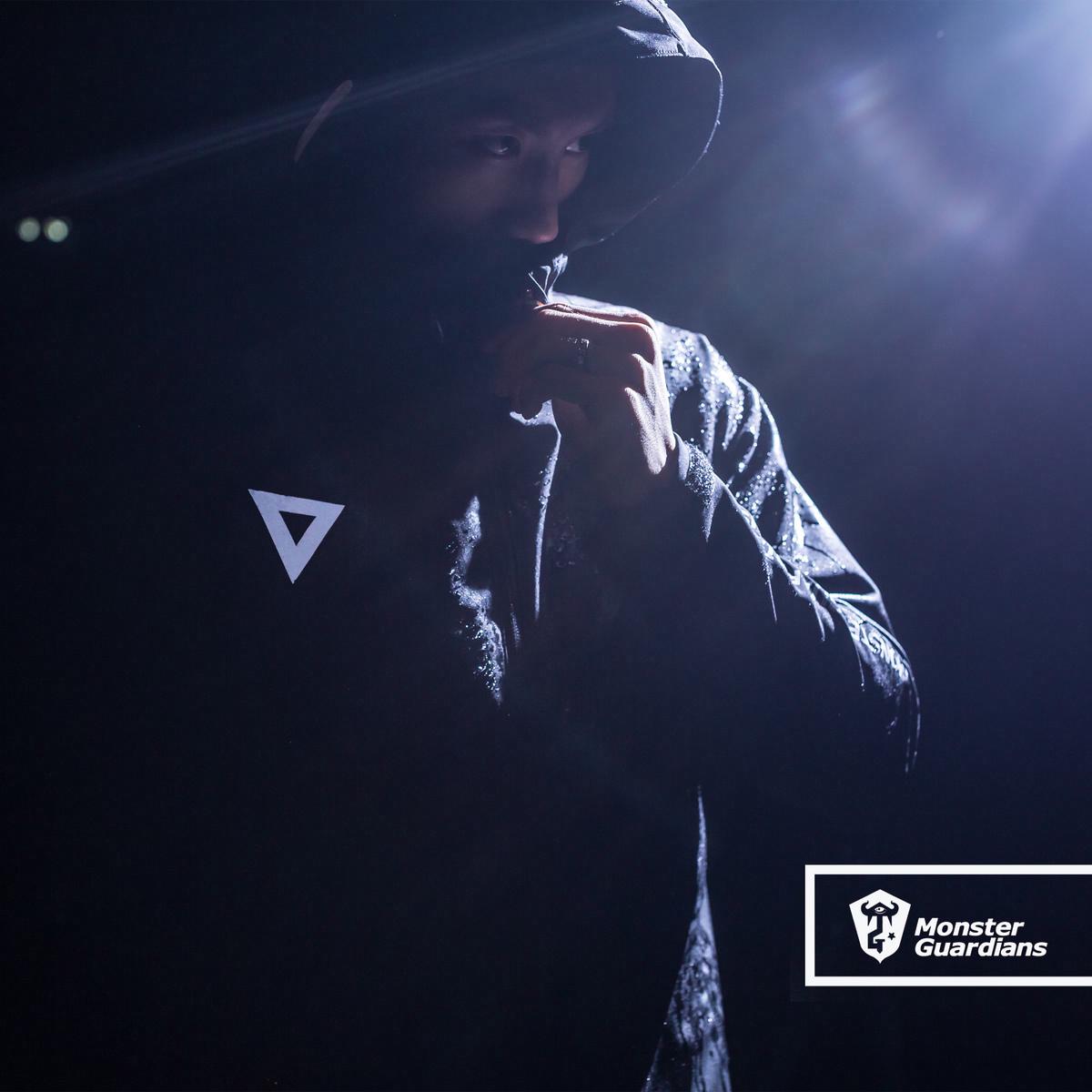 Monster Guardians 男原創設計運動外套防風雨夾克軟殼反光衝鋒衣