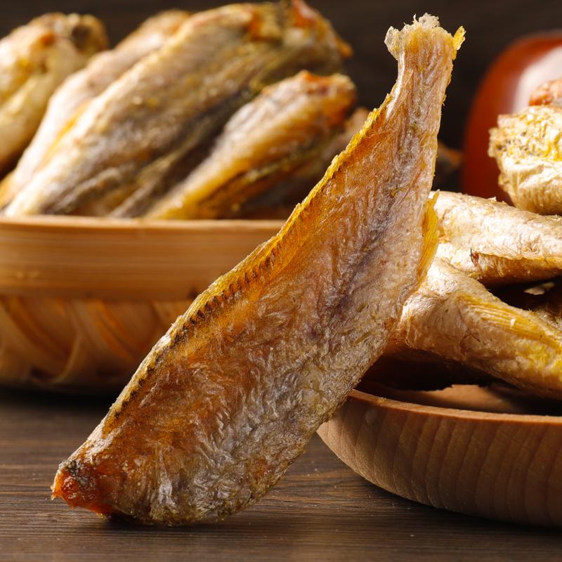 香酥小黄鱼干零食即食大包散装酥脆黄鱼酥海味休闲网红零食小鱼仔 No.3