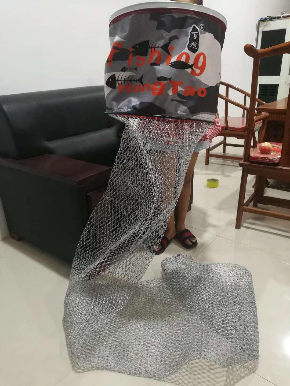新品手编双线不锈钢鱼护加粗加厚线白钢不锈钢网球拍粉色新款