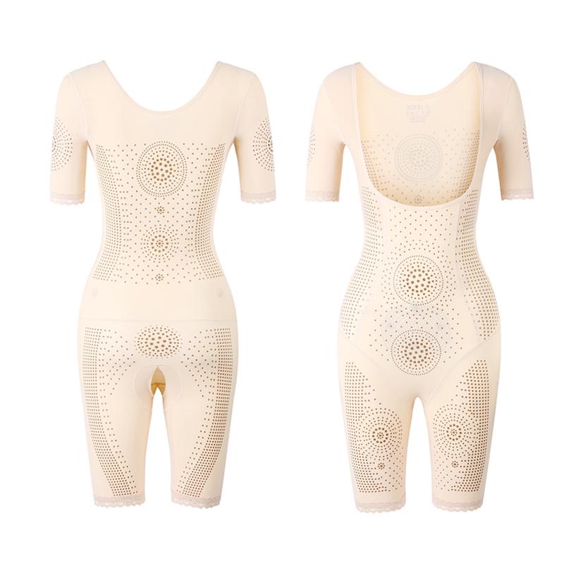意大利塑身衣女收腹束腰燃脂塑形养生美体无痕连体内衣束身瘦身衣