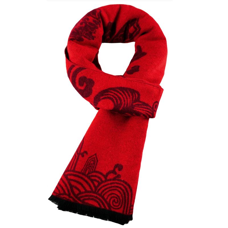送爷爷奶奶生日礼物中老年老年人长辈老人实用祝寿男女秋冬季围巾