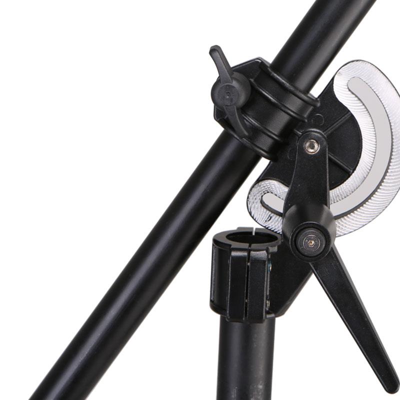 摄影器材 M2服装人像拍摄灯架 摄影灯架 斜臂两用架 顶灯架