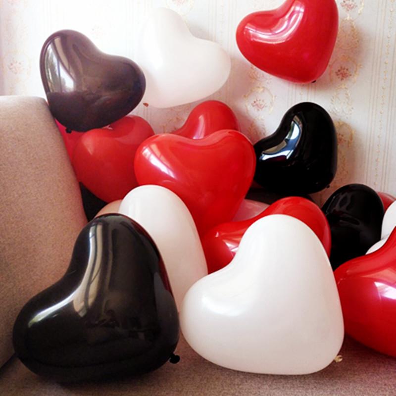 结婚加厚生日派对告白心形气球婚庆用品婚房布置浪漫气球装饰批發