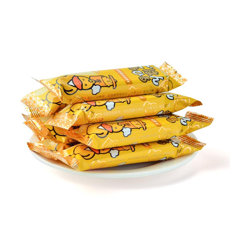 粗粮能量棒糙米卷米果膨化食品零食早餐 汇佳咸蛋黄味夹心米饼