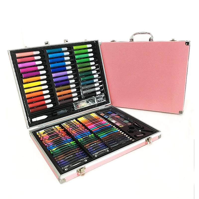 儿童彩笔绘画套装幼儿园画画笔小学生美术用绘画彩色手绘涂鸦