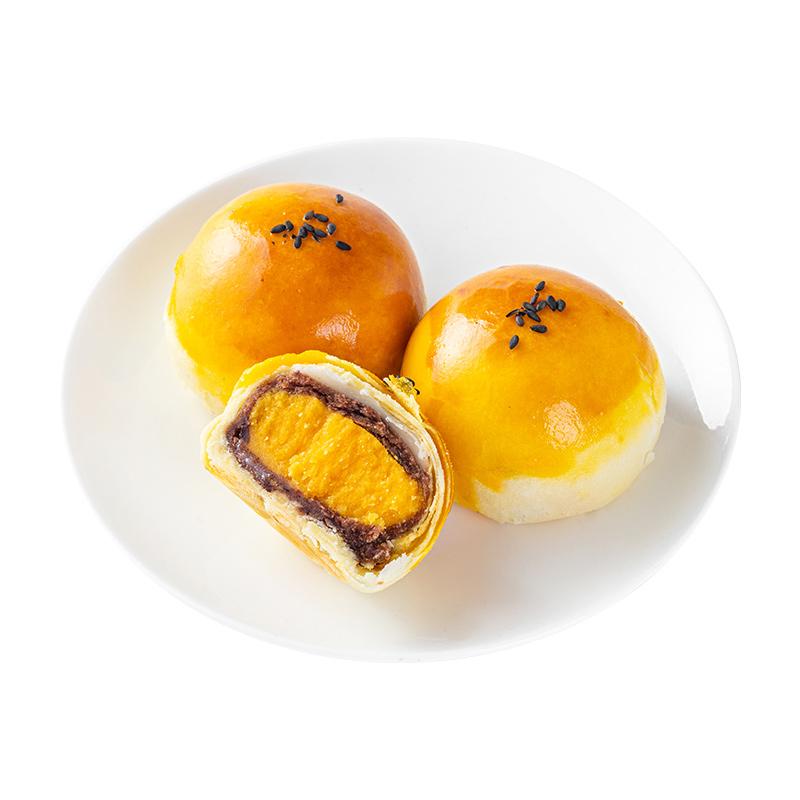 享津津咸海鸭蛋黄酥流心酥麻薯休闲零食面包网红糕点早餐小吃食品