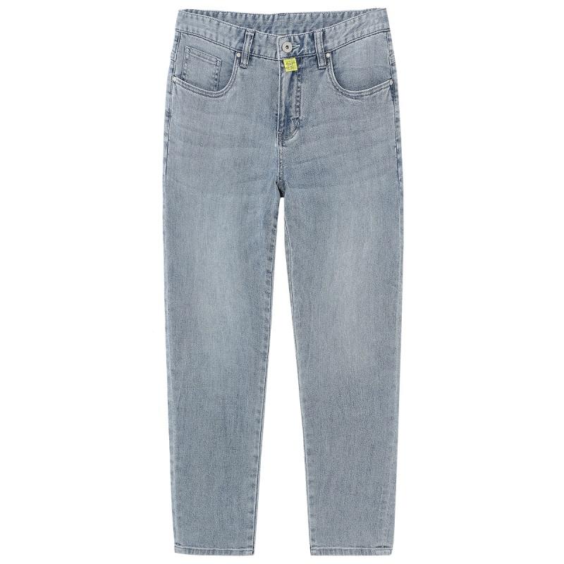 马克华菲 男士9分直筒裤
